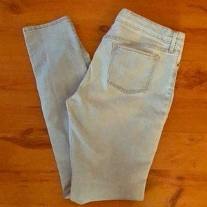 Girls Light Wash Skinny Jeans Size 14 Plus
